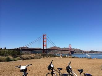 Biking to Golden Gate