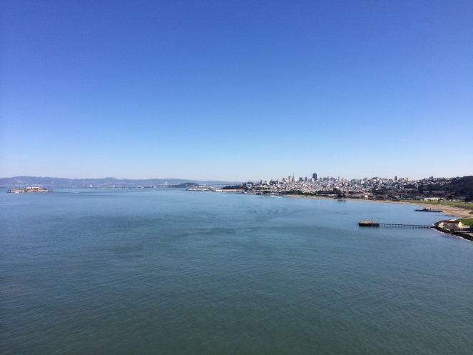 View of bay from Golden Gate