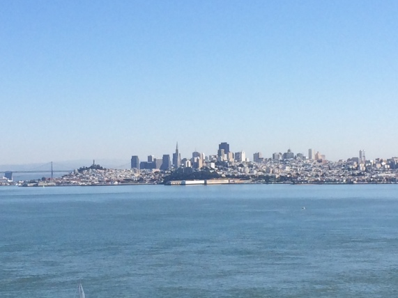 View of SF from across the bay