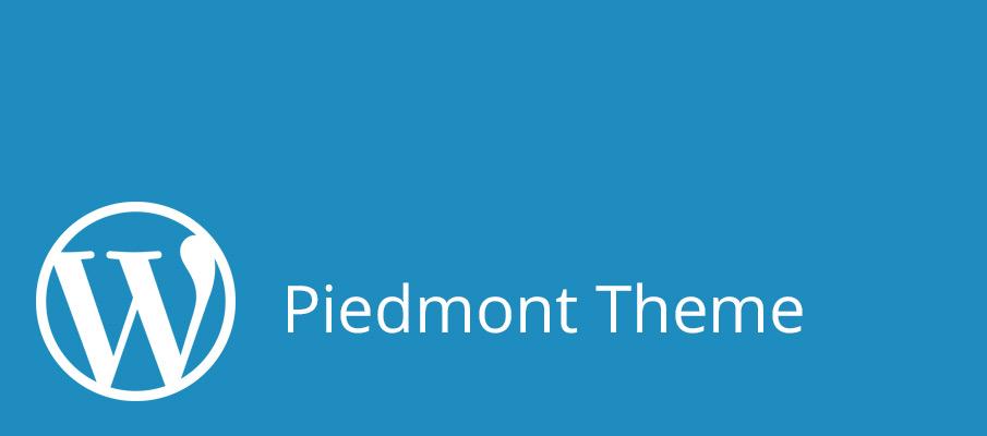WordPress Theme - Piedmont